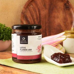Lotus Flower Jam with Herbal Sweetener