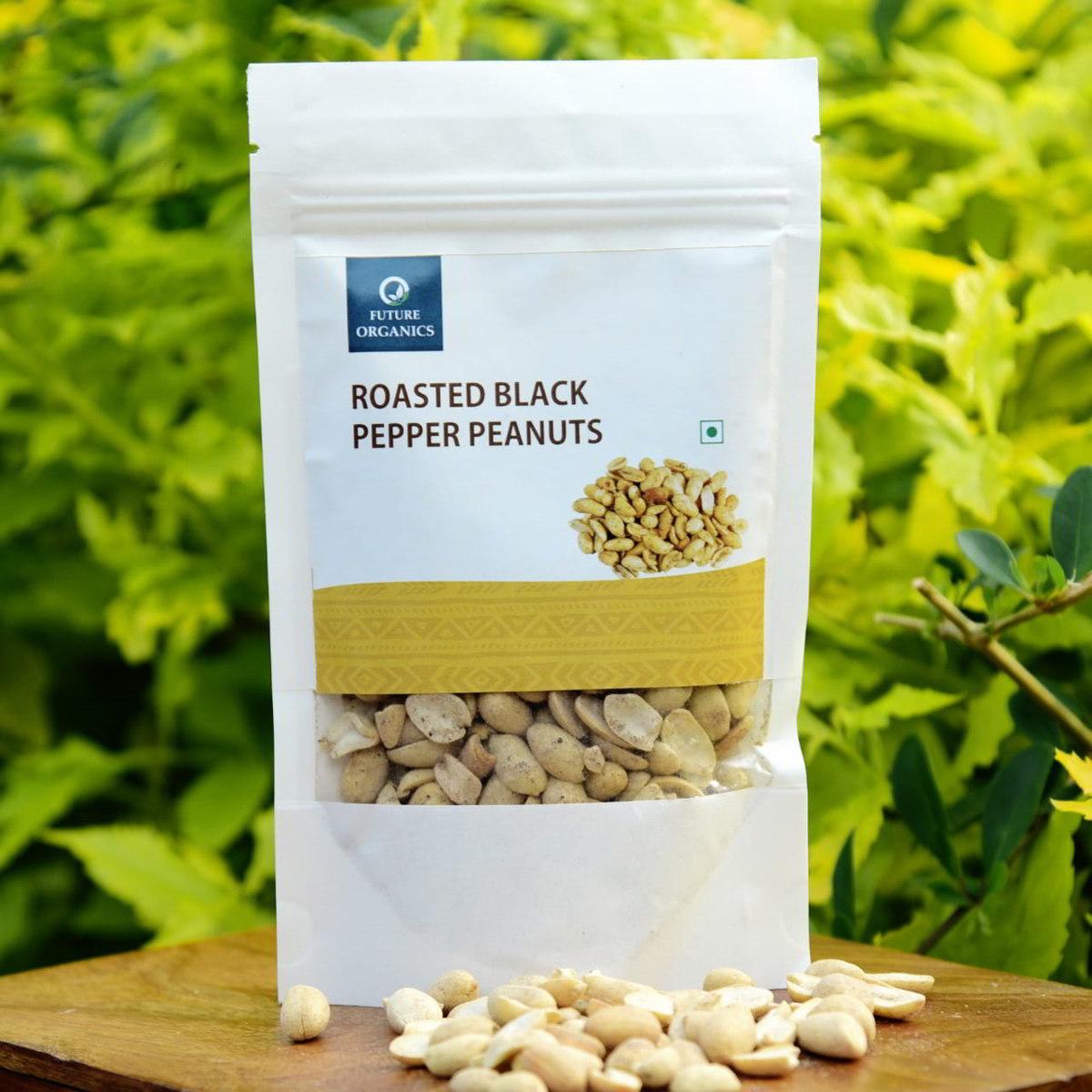 Roasted Black Pepper Peanuts