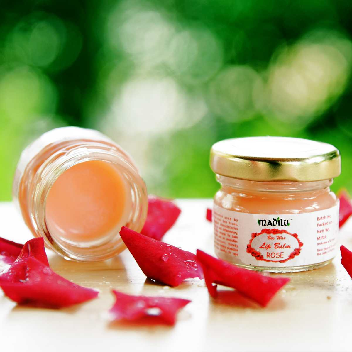 special bee wax lip balm - Rose(set of 2)